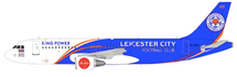 Thai AirAsia Airbus A320-216 HS-ABV Leicester City Football Club With Stand