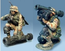 3rd ID Javelin Team, 2 figures 70MM
