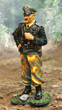German Sepp Dietrich, WWII Normandy w/ Separate Affixable Base