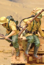 PzKfw IV Afrika Korps Jumpers, Two Figures