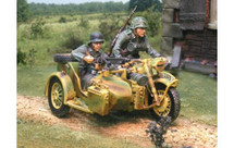 Panzer Lehr R75 with 2 figures, WWII