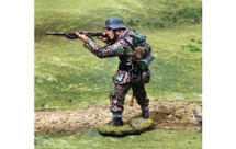 Waffen SS Firing--single figure