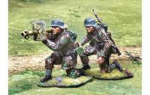 Waffen SS Panzerschreck Team, two figures