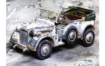 Horch Winter, armored car and two figures WWII