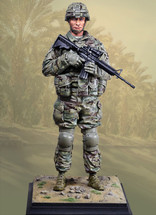 US Infantry Modern, Defenders Of Freedom Hero Statue