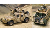 Marine Humvee GMV-5 w/ Two figures