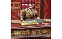 Hitler Seated WWII, single figure