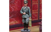 Rommel Grey General WWII, single figure
