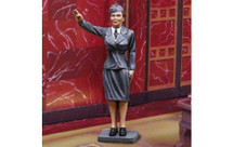 Luftwaffe Frau WWII, single figure