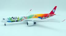 Sichuan Airlines A350-900 with stand