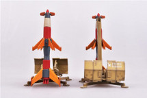"""Set of Two Rheintochter Mobile Surface-to-Air Missiles Germany, """"1946"""""""