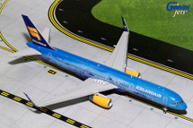 Icelandair B757-200(S) 80th Anniversary TF-FIR Gemini Diecast Display Model