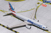 American B737-800(W) (Oneworld Livery) N836NN Gemini Diecast Display Model