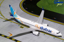 FlyDubai Boeing 737 MAX 8 Gemini Diecast Display Model