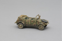 Volkswagen Kubelwagen, designed by Ferdinand Porsche, German Military World War II