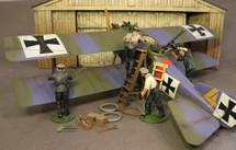 LFG Roland CIIa, Walfisch, Western Front, 1916 WWI Display Model
