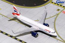 British Airways A320neo, G-TTNA Gemini Diecast Display Model