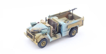 Chevrolet WB 30 cwt T9, Long Range Desert Group (LRDG), British Army, North Africa, 1942 (Light Brown/Azure, resin)