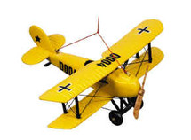 Airplane Keepsake, Yellow Authentic Models