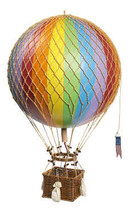 Hot Air Balloon Rainbow Authentic Models