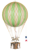 Hot Air Balloon - Green Authentic Models