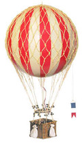 Hot Air Balloon - Red Authentic Models