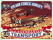 """C-47 Transport"" Ande Rooney"