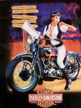 """Harley Davidson Crossroads Babe"" Ande Rooney"