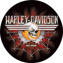 """Harley Davidson Gearhead Skull"" Ande Rooney"