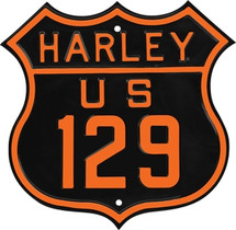 """""""Harley Davidson Route 129"""" Ande Rooney"""