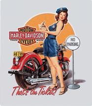 """Harley Davidson Ticket Babe"" Ande Rooney"