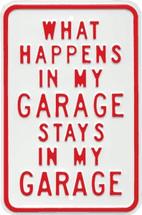 """What Happens in My Garage Stays in My Garage"" Ande Rooney"