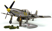 "P-51 Mustang Army Air Force ""Flying Undertaker"""