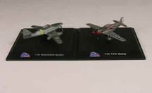 Set - Aircraft Dogfight Dual Pack ME-262A and P-51D Mustang