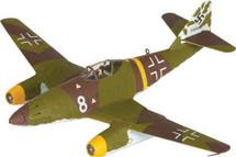 """Me 262A Luftwaffe Kommando Nowotny, """"White 8"""", Walter Nowotny, Germany"""