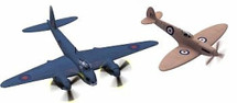 Mosquito and Spitfire - Collectors Special (2) Plane Set
