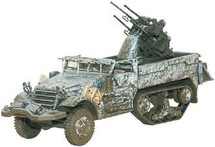 M16 Quad Gun Anti Aircraft Half Track US Army