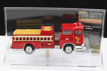 Mack Fire Pumper LA County Corgi