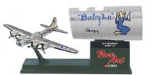 B-17 Bomber Baby Lu Corgi (Nose Art) Corgi