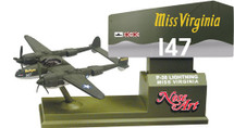 P-38 Lightning Miss Virginia (Nose Art) Corgi