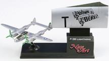 "P-38 Lightning ""Down Beat"" (Nose Art ) Corgi"