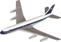 Boeing 707 BOAC Corgi