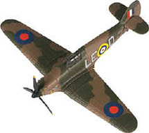 Hawker Hurricane Douglas Bader's Corgi