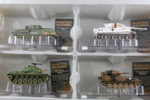 Collectors Set of Four Tank Corgi