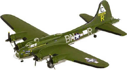 corgi b-17 diecast model airplane