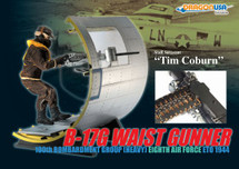 "Tim Coburn"" B-17 Waist Gunner, 100th Bombardment Group"