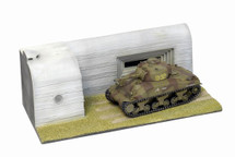 Sherman M4A1 with Diorama Fort