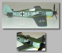 FW-190A-5 Black 13 JG26
