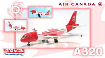 "Air Canada A320 ""65 Years"" Diecast Model"