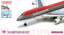 "B747-400 Northwest Airlines ""City Of Detroit"""